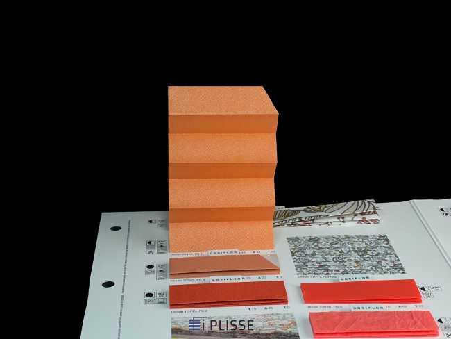 Штора плиссе Bloecker Cosiflor NEW 20430, PG1, R44 A44 T12