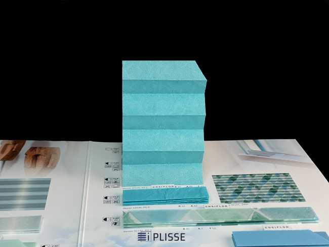 Штора плиссе Bloecker Cosiflor Basic NEW 20529, PG1, R40 A48 T12