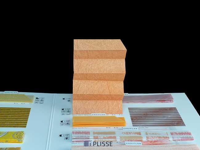 Штора плиссе Bloecker Cosiflor NEW 20531, PG1, R39 A46 T15