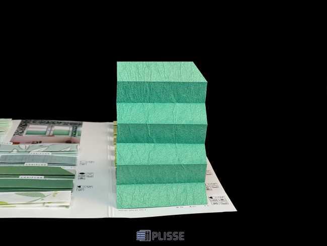 Штора плиссе Bloecker Cosiflor Basic NEW 20537, PG1, R30 A65 T5