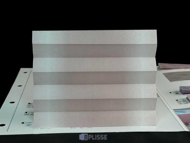 Штора плиссе Bloecker Cosiflor NEW 30871, PG2, R54 A2 T44