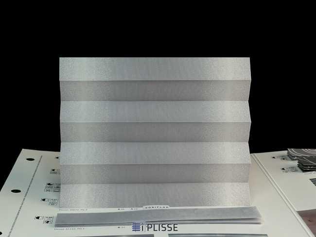 Штора плиссе Bloecker Cosiflor Basic NEW 30872, PG2, R41 A19 T40