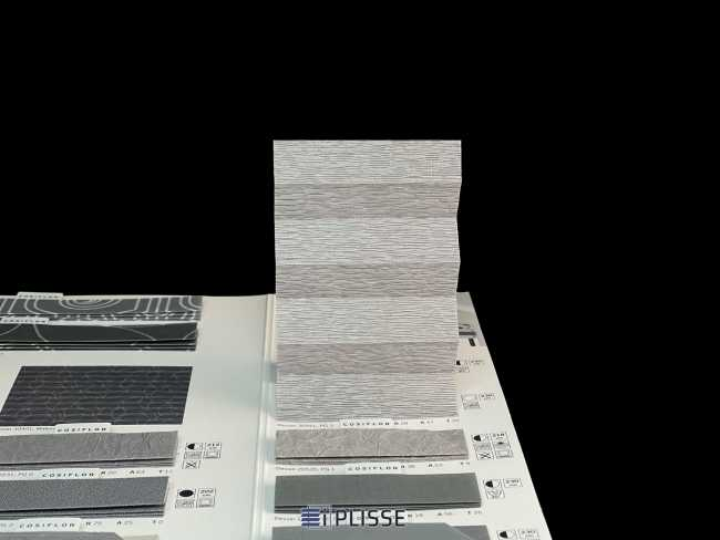 Штора плиссе Bloecker Cosiflor NEW 30941, PG3, R28 A47 T25
