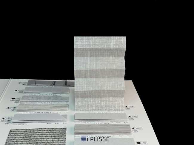 Штора плиссе Bloecker Cosiflor Basic NEW 30952 PG2, R39 A36 T25