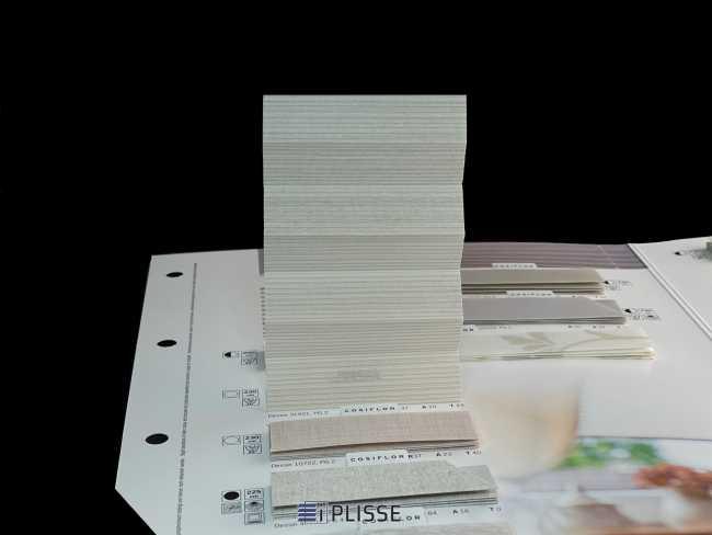 Штора плиссе Bloecker Cosiflor NEW 31021, PG2, R37 A20 T43