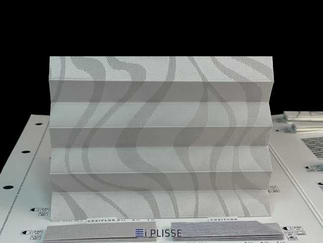 Штора плиссе Bloecker Cosiflor Basic NEW 31032, PG3, R43, A22, T35