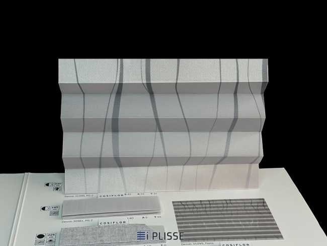 Штора плиссе Bloecker Cosiflor Basic NEW 31099, PG2, R45 A24 T31