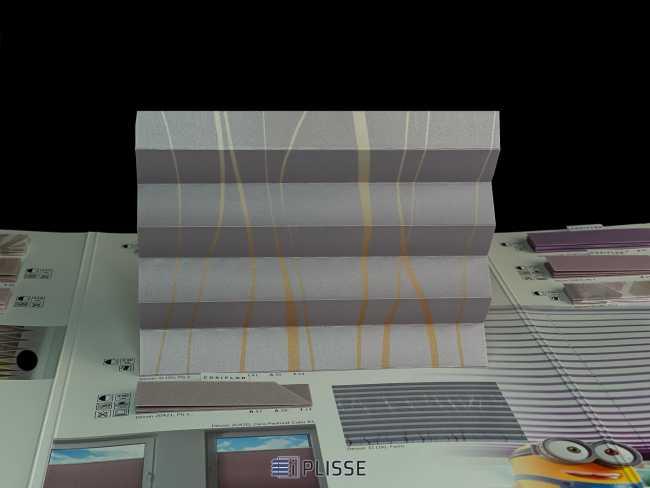Штора плиссе Bloecker Cosiflor NEW 31100, PG2, R41 A35 T24