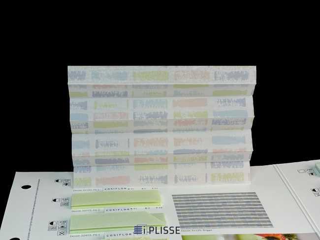 Штора плиссе Bloecker Cosiflor NEW 31120, PG1, R41 A6 T53