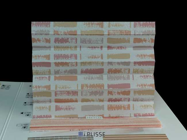 Штора плиссе Bloecker Cosiflor Basic NEW 31121, PG1, R41 A12 T47