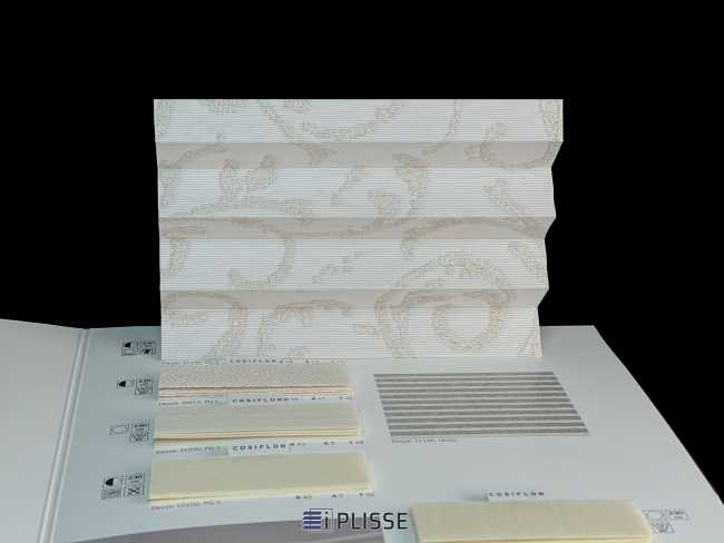 Штора плиссе Bloecker Cosiflor Basic NEW 31190, PG3, R58 A23 T19