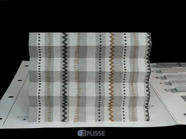 Штора плиссе Bloecker Cosiflor Basic NEW 31211, PG1, R34 A37 T29