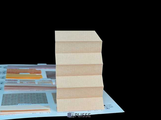 Штора плиссе Bloecker Cosiflor NEW 40083, PG1, R61 A22 T17