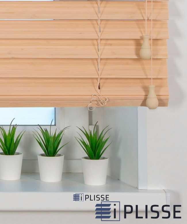 Жалюзи деревянные. Бамбук. 50K-301