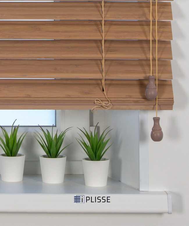 Жалюзи деревянные Бамбук 50K-302