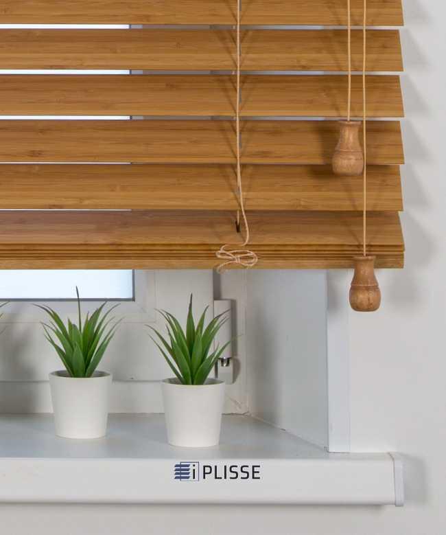 Жалюзи деревянные Бамбук 50K-303