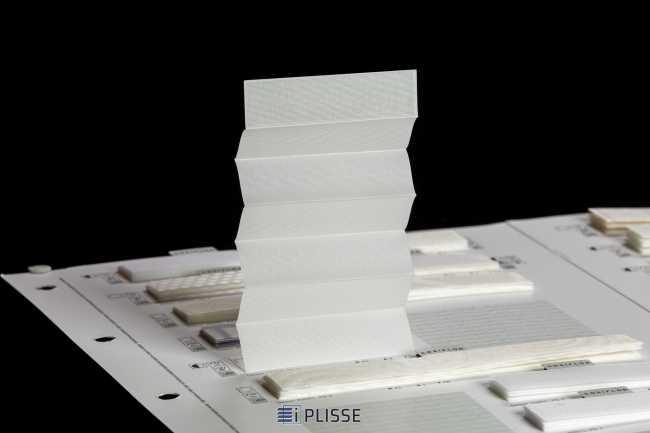 Штора плиссе Bloecker Cosiflor 10409, PG0, R45 A4 T51