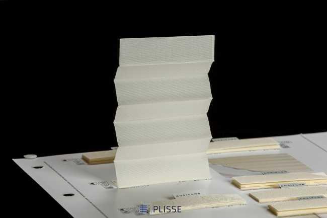 Штора плиссе Bloecker Cosiflor 10414, PG0, R41 A4 T55