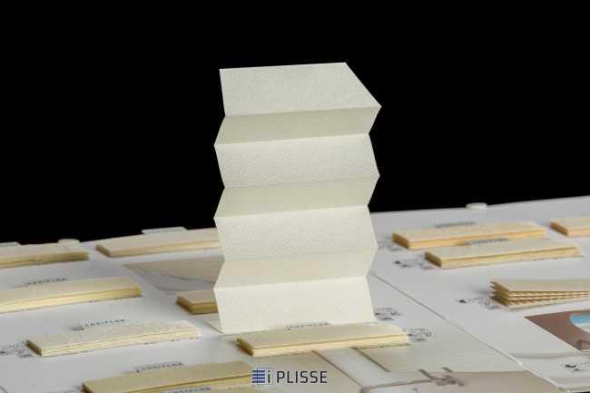 Штора плиссе Bloecker Cosiflor Basic 20405, PG1, R63 A3 T34