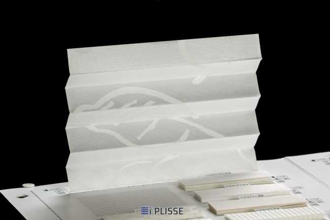 Штора плиссе Bloecker Cosiflor Basic 30551, PG2, R76 A1 T23
