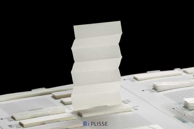 Штора плиссе Bloecker Cosiflor 40071, PG1, R66 A5 T29