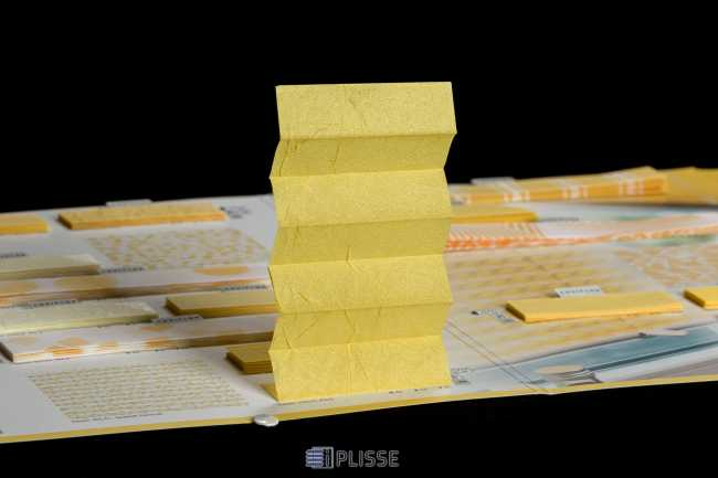 Штора плиссе Bloecker Cosiflor Basic 10210, PG0, R42 A12 T46