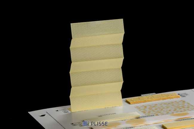 Штора плиссе Bloecker Cosiflor Basic 10422, PG0, R39 A10 T51