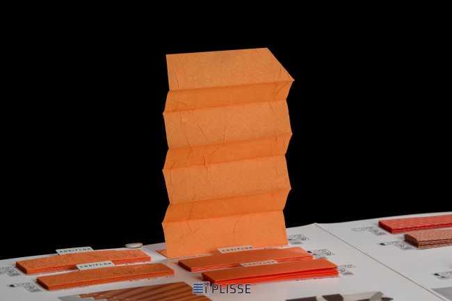 Штора плиссе Bloecker Cosiflor Basic 20638 PG2, R37 A47 T16