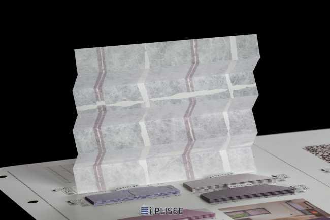 Штора плиссе Bloecker Cosiflor Basic 30274, PG1, R45 A0 T55