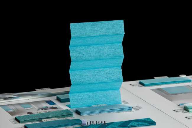Штора плиссе Bloecker Cosiflor Basic 10656 PG1, R33 A40 T27