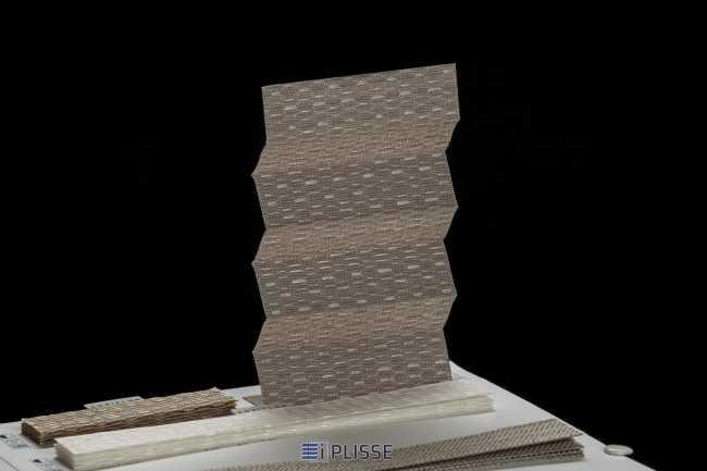 Штора плиссе Bloecker Cosiflor Basic 30651 PG2, R27 A60 T13