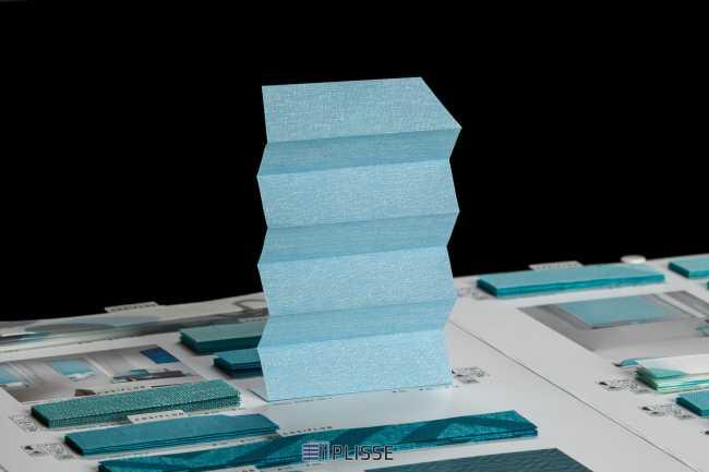Штора плиссе Bloecker Cosiflor 40082, PG1, R60 A22 T18