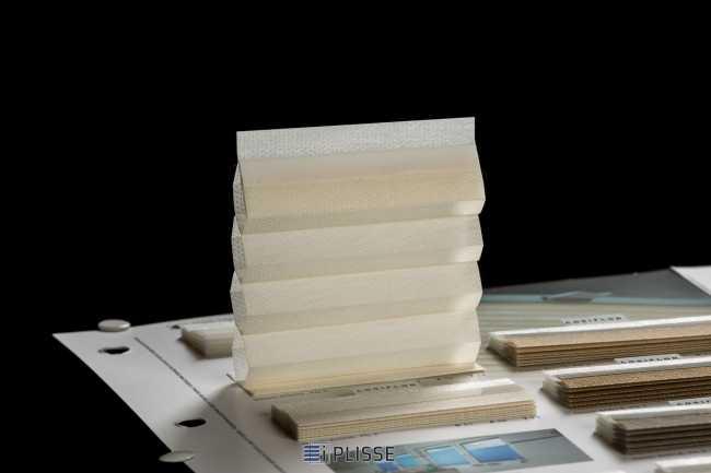 Штора гофре плиссе  Bloecker Cosiflor Basic 60002 PG2, R44 A42 T14