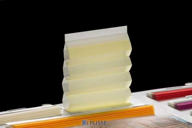 Штора гофре плиссе  Bloecker Cosiflor Basic 60004 PG2, R39 A43 T18