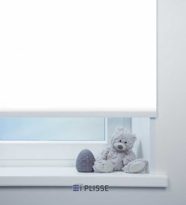 Рулонная штора Аллегро перл Белый