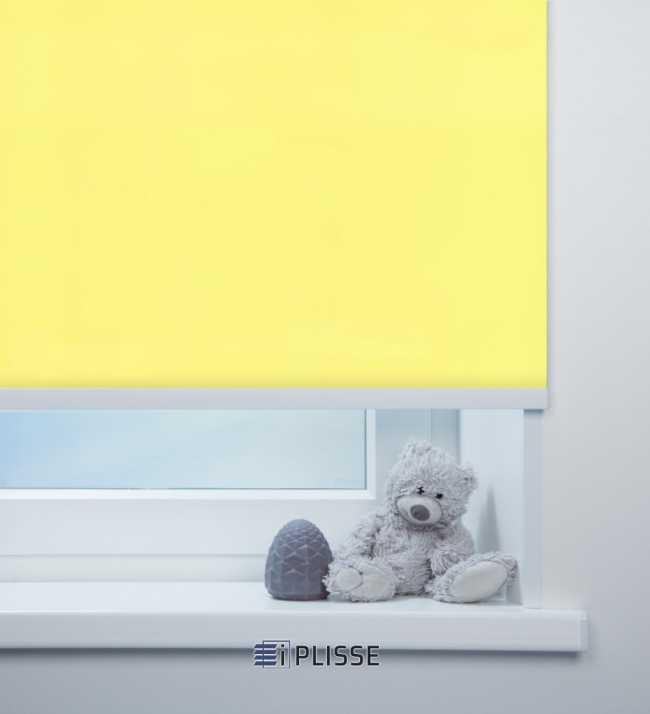 Рулонная штора Аллегро перл Желтый
