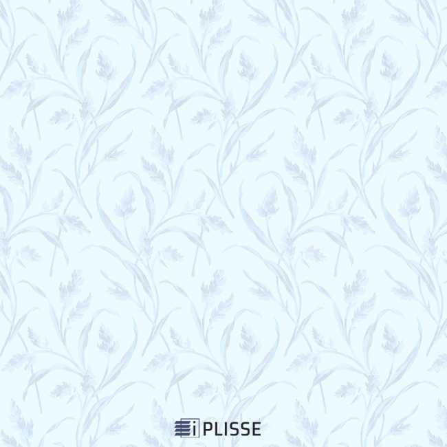 Рулонная штора Баски димаут Морозно-голубой