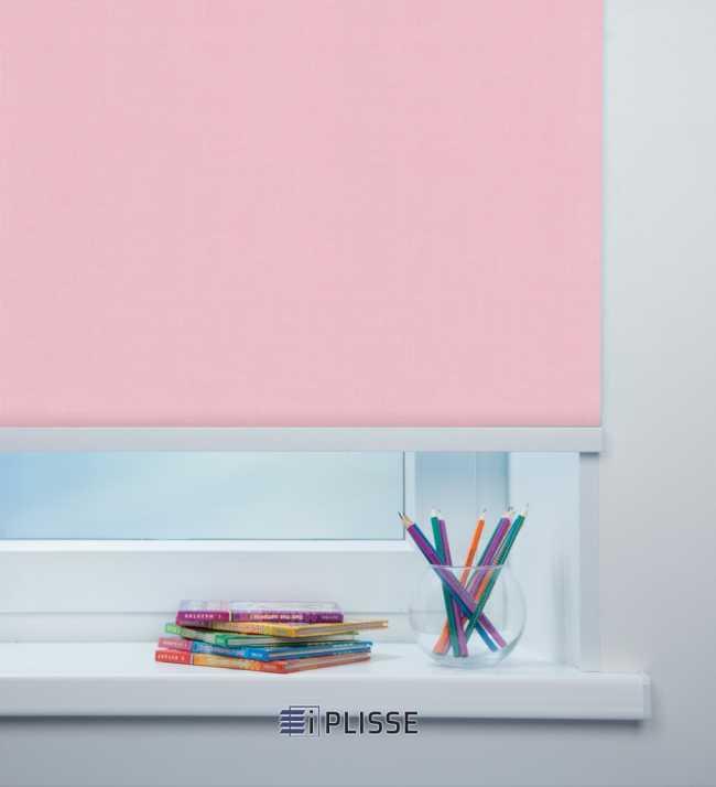 Рулонная штора Карина Светло-розовый
