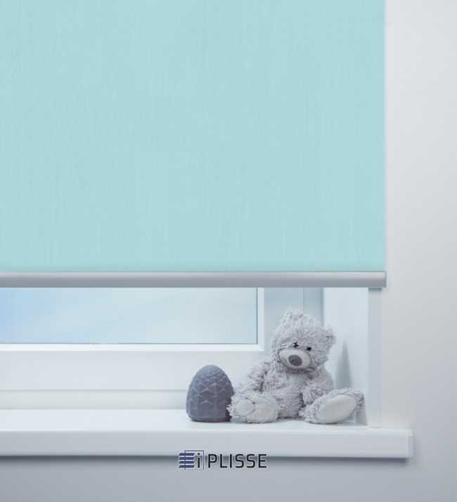 Рулонная штора Лусто Голубой