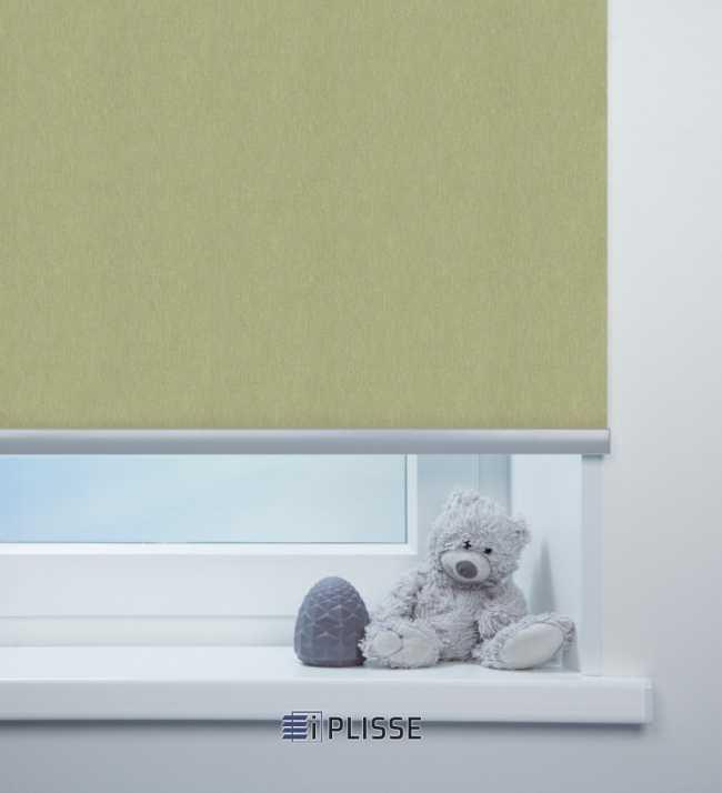 Рулонная штора Лусто Светло-зеленый