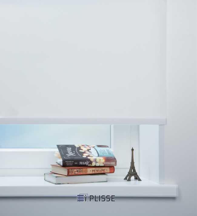 Рулонная штора Скрин 5% Белый