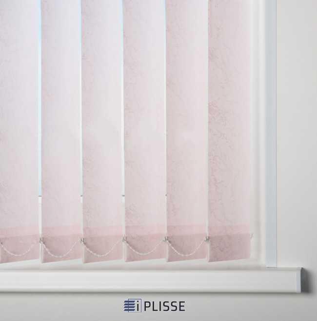 Вертикальные жалюзи Шелк Розовый