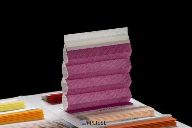 Штора гофре плиссе  Bloecker Cosiflor Basic 60013 PG2, R37 A55 T8